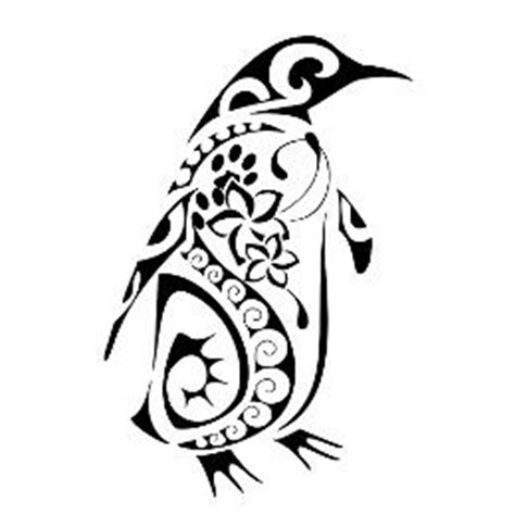 tribal penguin tattoo meaning 25 best ideas about penguin on