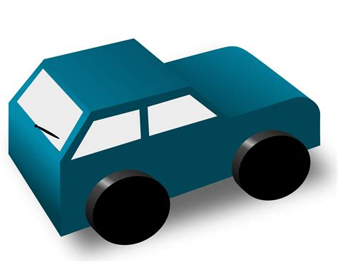 cartoon car back clipart cartoon car back