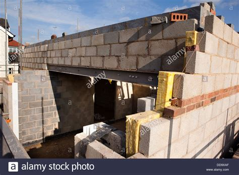 building a concrete block house self building house constructing upper floor with