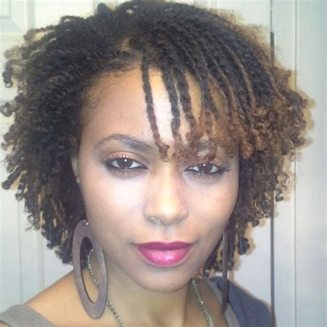 Double Hair Strand | untouchmyhair double strand twist with ends set on perm