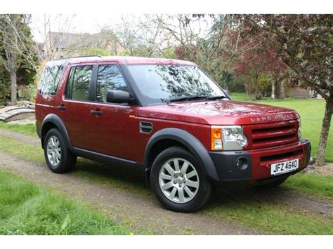 land rover red land rover discovery review and photos