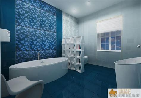 blue tub bathroom ideas modern blue bathroom designs ideas 171 home highlight