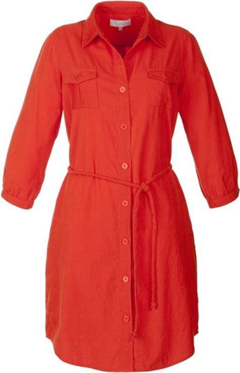 Corduroy Shirt Dress lewis corduroy shirt dress orange in brown