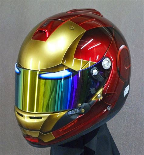 iron man helmet design racing helmets garage arai gp 6s quot ironman quot 2014 by yf design