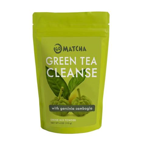 7 Day Green Tea Detox by Green Tea Cleanse 4 Oz Go Matcha