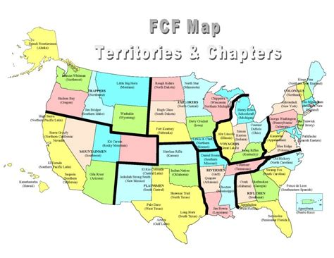 small usa map national fcf gt fcf history gt history gt photos