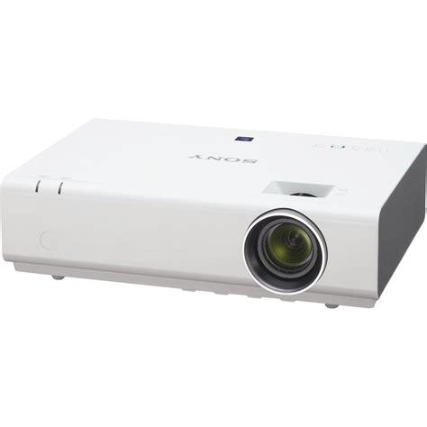 Projector Sony 3000 Lumens sony vplex246 3200 lumens xga portable projector vpl ex246 b h