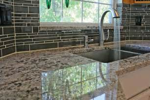 Glass Kitchen Tile Backsplash Important Kitchen Interior Design Components Part 3 To Backsplash Or Not To Backsplash