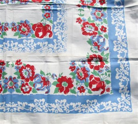 Vintage Kitchen Tablecloths by 141 Best Images About 1940 S Tablecloths On