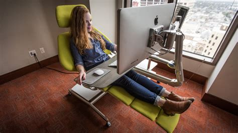 laying desk altwork is a configurable desk for lying on the