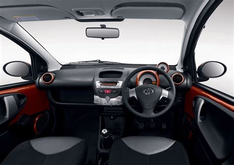 toyota aygo inside toyota aygo plays the card with a new contender