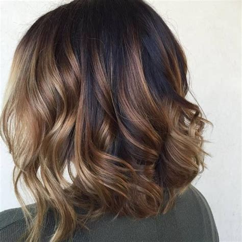 dark brown highlited bob sexy haircuts 25 best ideas about highlights for dark hair on pinterest