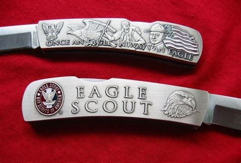 eagle scout pocket knife eagle scout pocket knife and lockback stainless steel