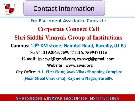 Of Ta Mba Placement by Placement Slide For Institutions