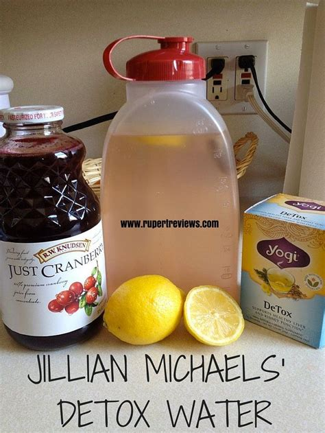 Jillian Detox Drink by Jillian Pics