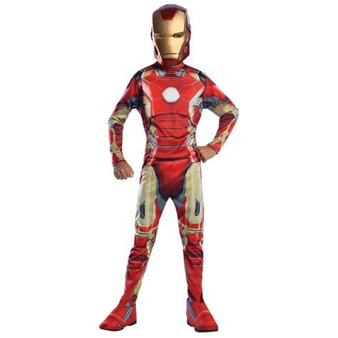 iron man costume kids avengers superhero halloween fancy