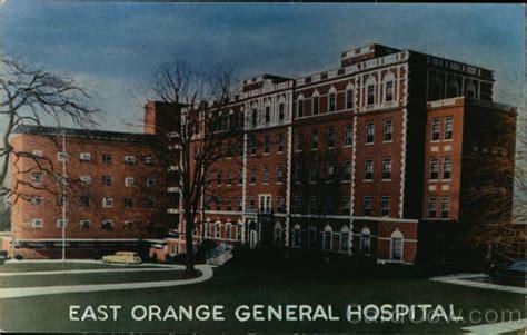 East Orange Post Office by East Orange General Hospital Postcard