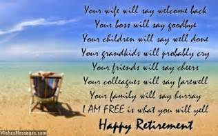 retirement poems for dad happy retirement poems for