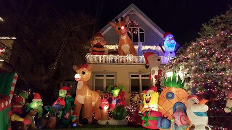 dyker heights christmas lights bus tour 2016