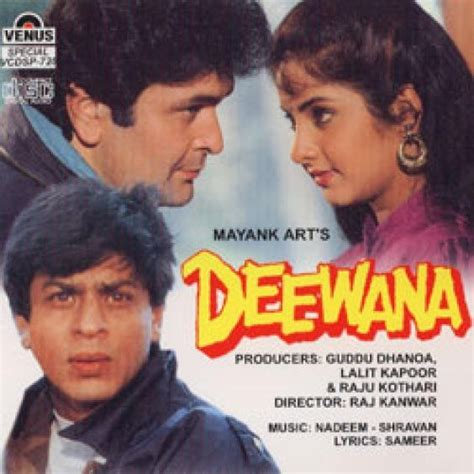 biography of movie deewana filmography of shahrukh khan shahrukh khan upcoming