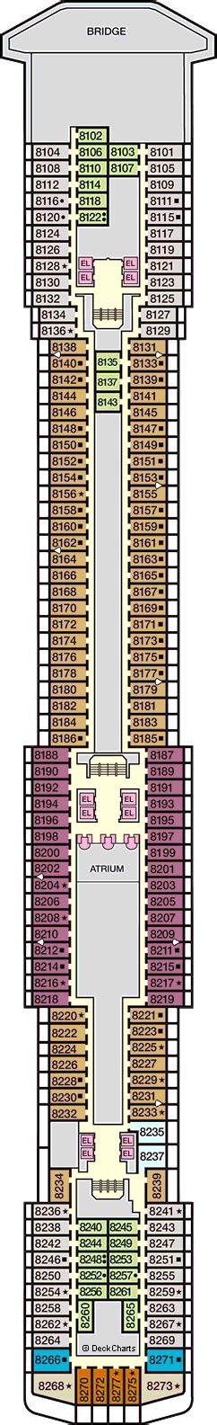 carnival legend floor plan carnival legend deck 8 panorama deck cruise critic