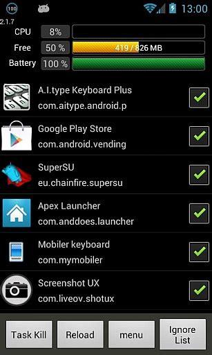 killer pro apk simple task killer pro v2 4 0 apk chiudere applicazioni e liberare memoria ram su android