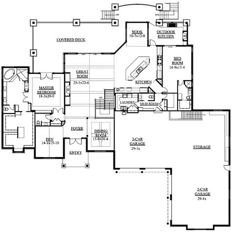 mountain floor plans whitby mountain ranch home plan 101s 0011 house plans