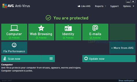 best portable antivirus 2014 avg anti virus professional 2014 screenshot and