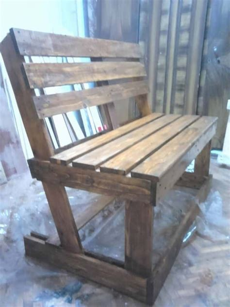 make a bench out of pallets 17 best ideas about pallet benches on pinterest pallets