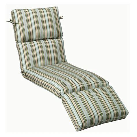 Sunbrella Chaise Lounge Cushions Home Decorators Collection Sunbrella Cilantro Stripe Outdoor Chaise Lounge Cushion 9198810620