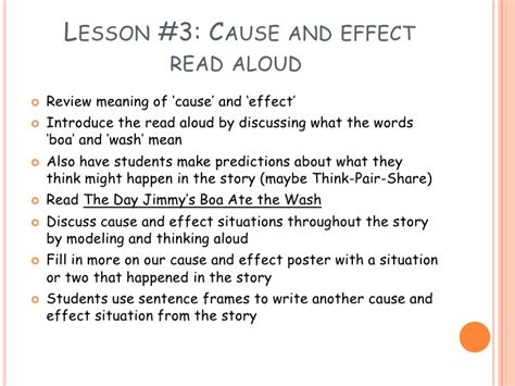 affects meaning cause and effect relationships
