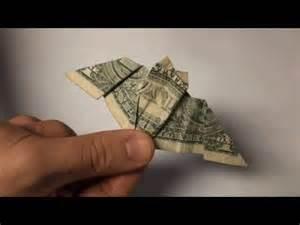 Origami 20 Dollar Bill - origami bat dollar bill paper folding bats