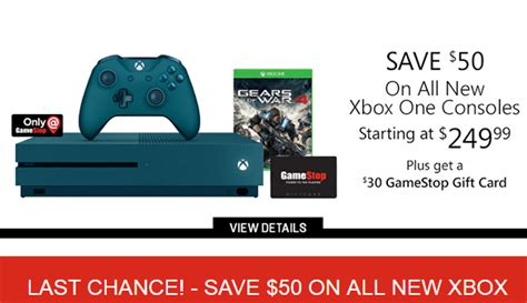 Xbox Gift Card Deal - gamestop sale deals coupon codes gift card offers and more
