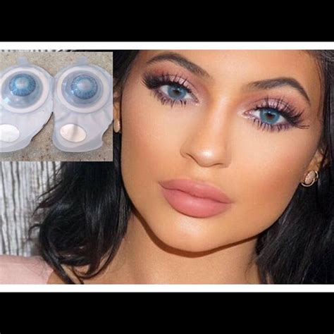 fresh look color blend contacts 1 left brilliant blue freshlook contact lens nwt makeup