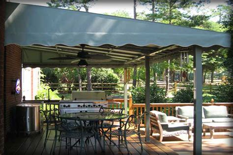 outdoor awnings and canopies residential deck awnings residential patio canopies