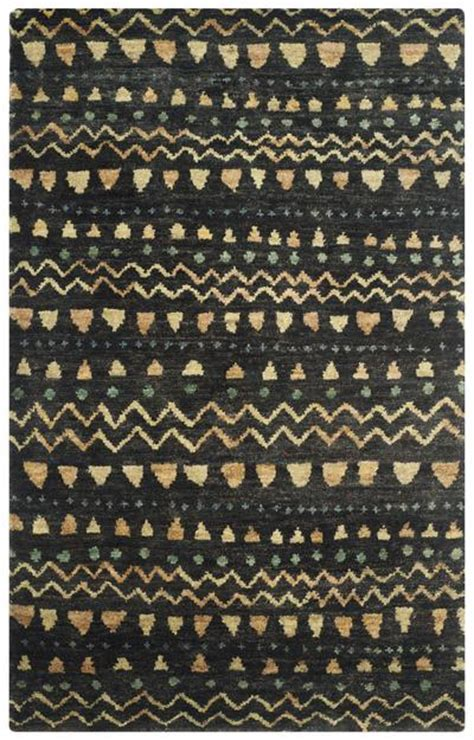Black And Gold Area Rug by Safavieh Bohemian Boh653a Black And Gold Area Rug Free