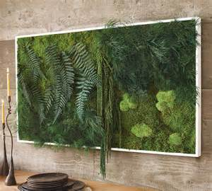 Fern And Moss Wall Art The Green Head