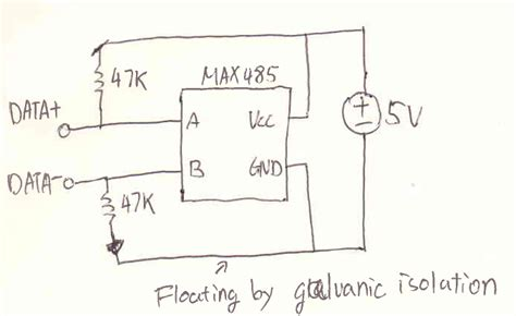 rs485 bias resistors 2 wire rs485 safe electronicsxchanger queryxchanger