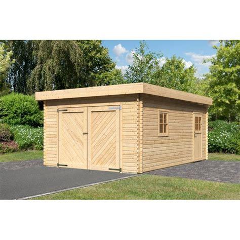 porte garage 522 garage bois karibu portes battantes 40 mm 19 3 m 178