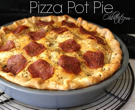 Why A Pizza Pie When Theres A Pizza Pope by Pizza Pot Pie Dishes Pizza Pot Pies
