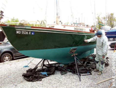 boat shop jobs fresh paint and a boat that s ready to cruise soundings