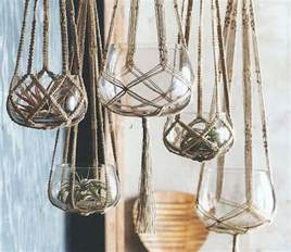 Macrame Hanging Planters - macrame plant hanger patterns to embellish any rustic or