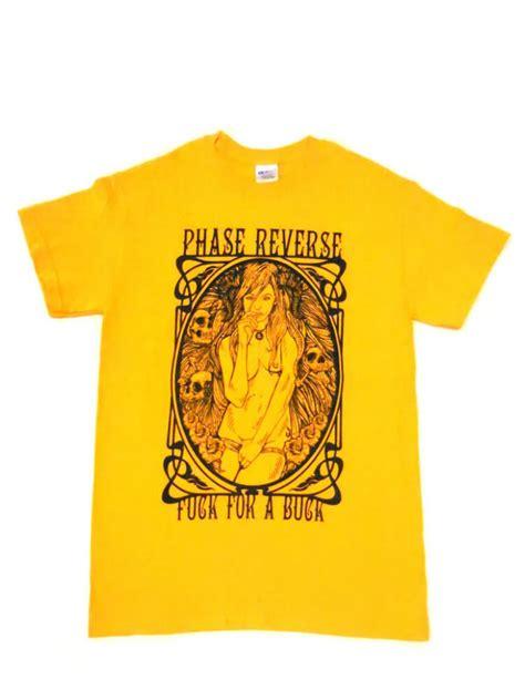 Lp Kaos T Shirt Fck phase f ck for a buck t shirt yellow megastore