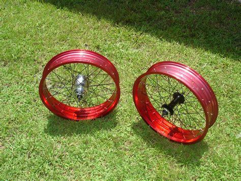 Handmade Bike Wheels - custom bicycle wheel builds pedalchopper