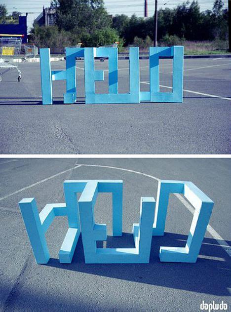 cool examples  typographic street art
