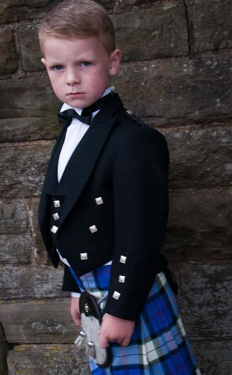boys prince charlie jacketvest  scotweb