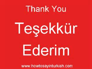 how do you say quot hello quot and quot thank you quot in turkish how