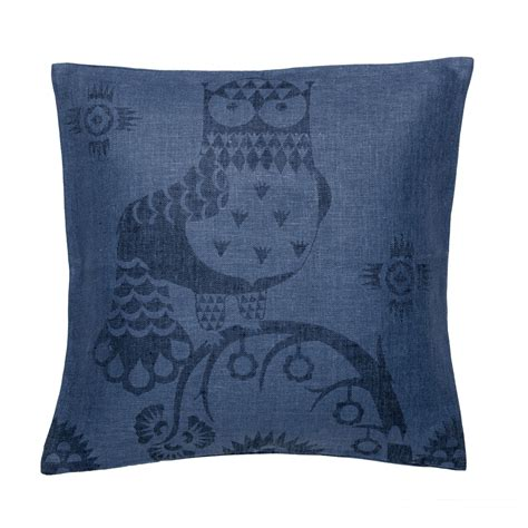 blue throw pillows for couch iittala taika blue throw pillow 50 off or more