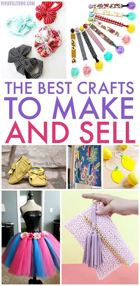 What Handmade Crafts Sell Best - 21 amazing crafts to make and sell money craft