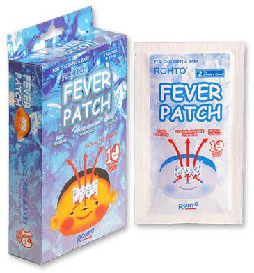 Weekit Fever Patch Pengukur Suhu Badan Ingat Anak Demam Ingat Fever Patch Plester Penurun Demam